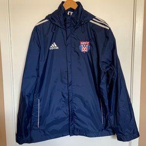 Adidas NEFC jacket/windbreaker size M